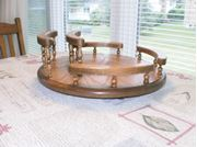 Picture of Lazy Susan w/napkin holder on the side