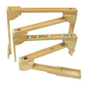 Picture of Wooden Subway Marble Roller - 6 ft. long