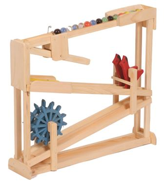 Picture of Wooden Double Marble Roller with Bird