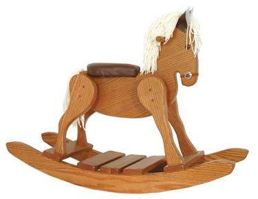 Picture of Padded Seat Rocking Horse