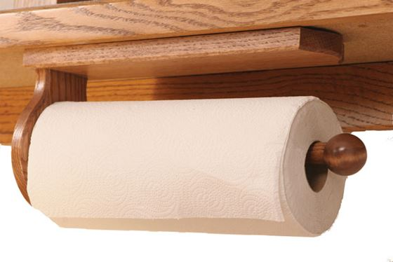 Under Cabinet Mount Paper Towel Holder