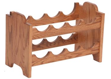 Picture of Solid Oak Stackable Wine Rack
