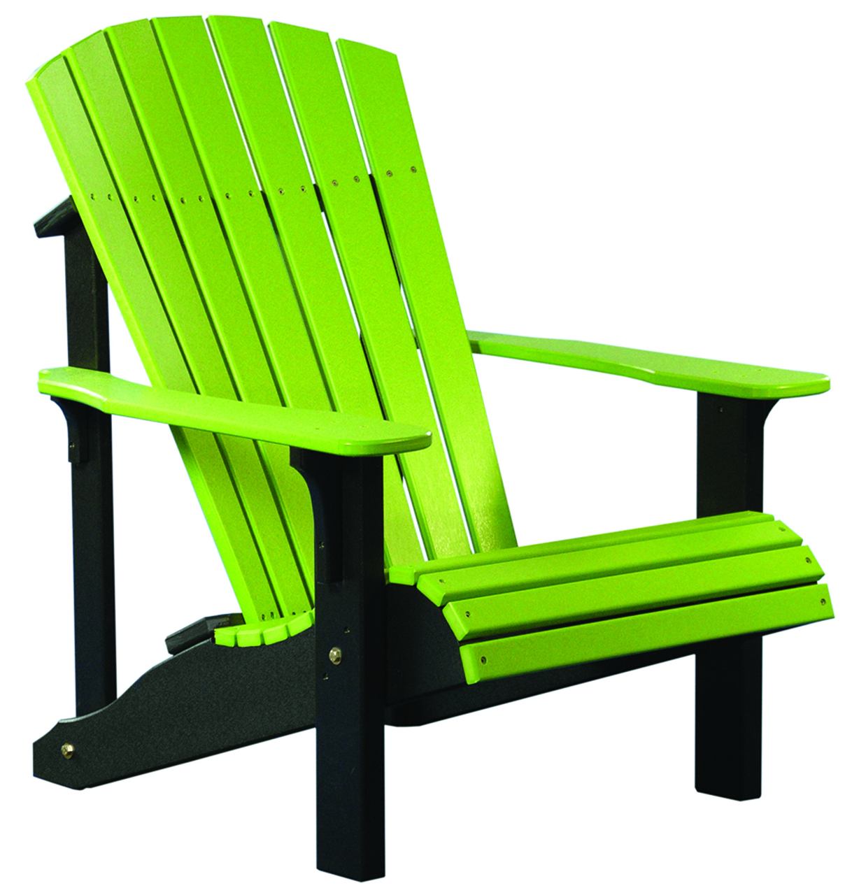 Luxcraft Poly Deluxe Adirondack Chair on Amish Made Bedroom Furniture