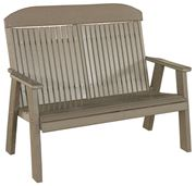 Picture of LuxCraft Poly Classic Highback Bench 4ft