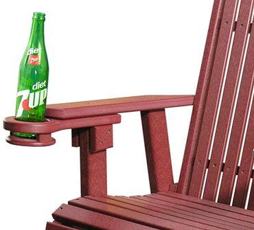 Picture of Outdoor Poly Cup Holder LuxCraft