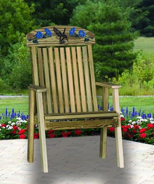 Picture of Hummingbird Bench - 2 ft.