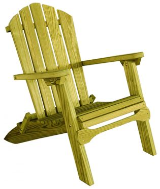 Picture of Luxcraft Folding Adirondack Chair