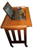Picture of Rolling laptop or Server Table
