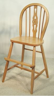 Picture of Solid Oak Windsor Youth Chair