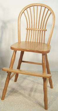 Picture of Solid Oak Sheaf Youth Chair