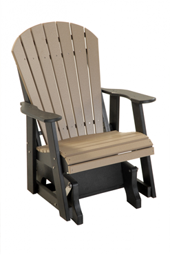 Picture of Comfort Time  poly 2ft. Adirondack  Glider