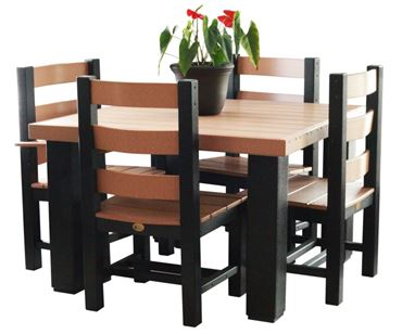 Picture of Luxcraft Contemporary Square Table Set