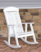 Picture of LuxCraft Poly Porch Rocking Chair