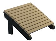 Picture of LuxCraft Poly Deluxe Adirondack Chair Footrest