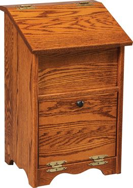Picture of Solid Wood Veggie Bin