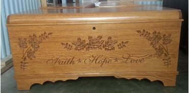Picture of Amish Waterfall Chest