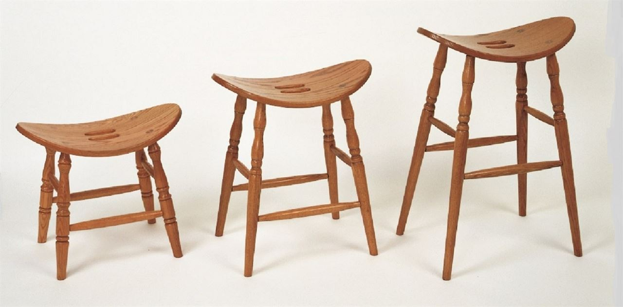 ... Picture of Amish built Saddle Bar Stool : saddle bar stool - islam-shia.org