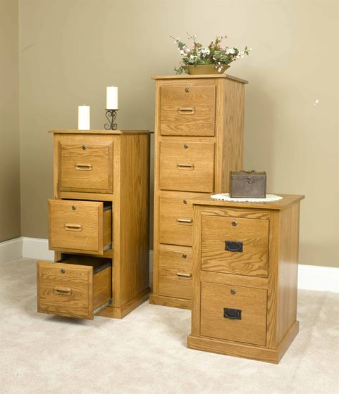 Picture of Wood File Cabinet