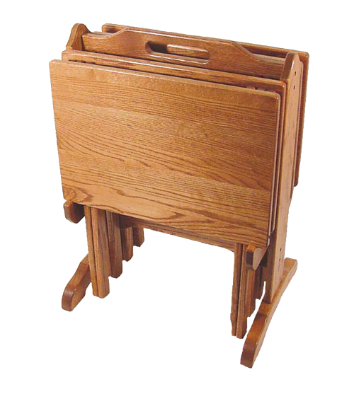 Amish Made Solid Wood Tv Trays Four Seasons Furnishings