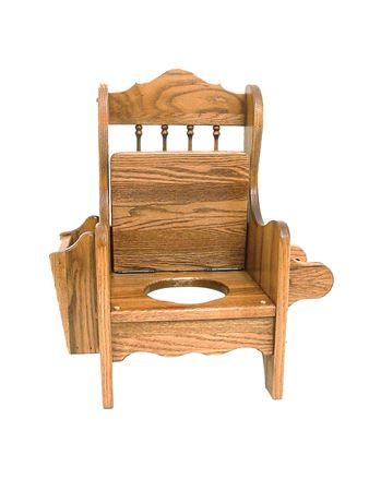 Picture for category Amish Wooden Potty Chairs
