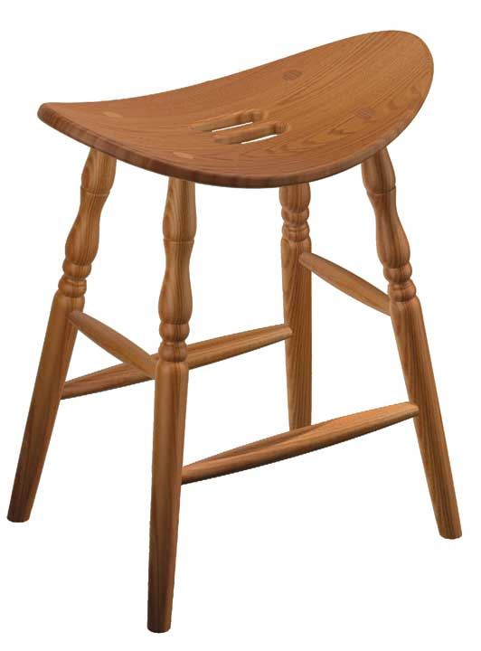 Saddle Bar Stool Four Seasons Furnishings Handmade
