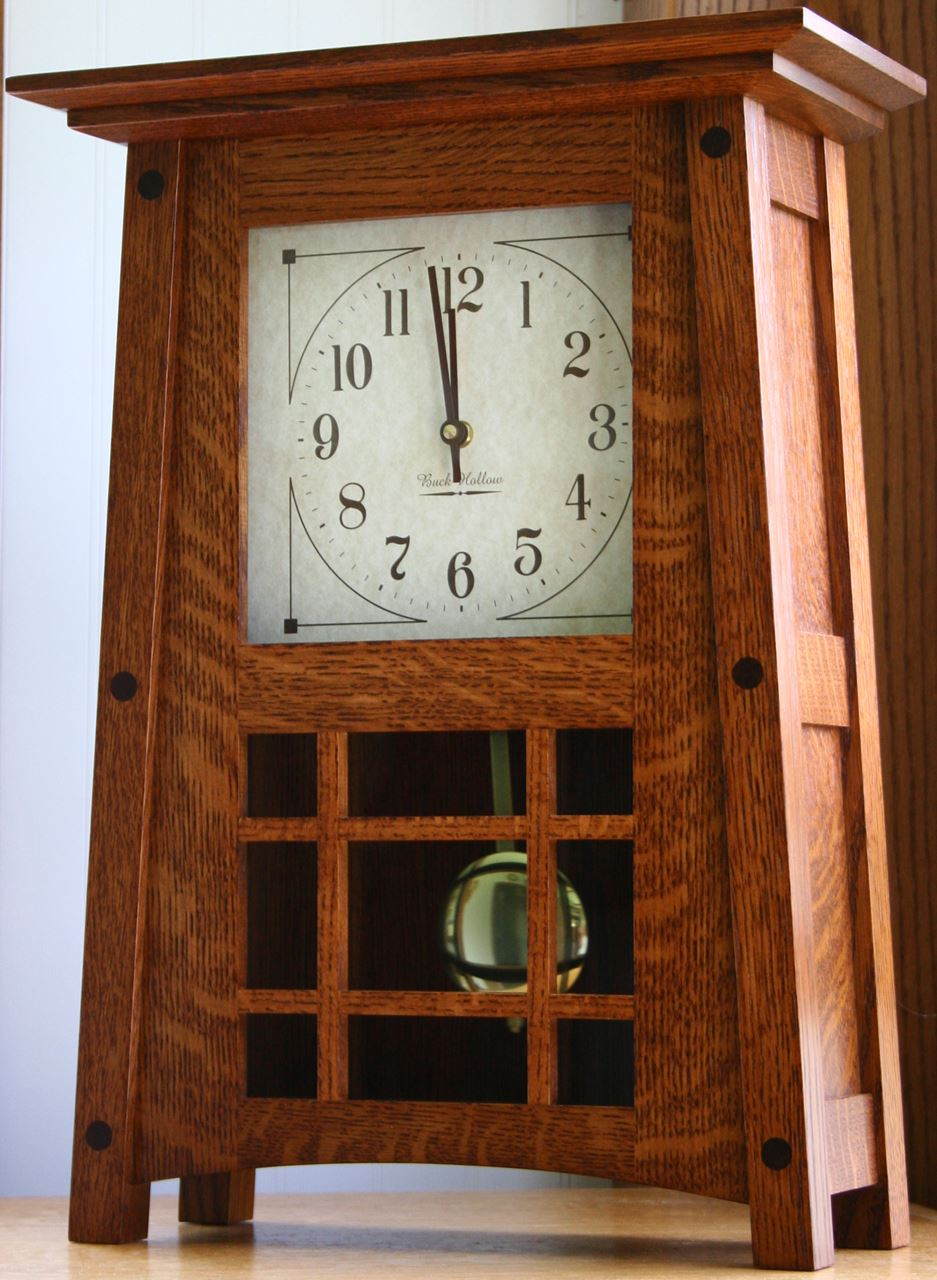Amish Made Mccoy Mantle Clock Four Seasons Furnishings