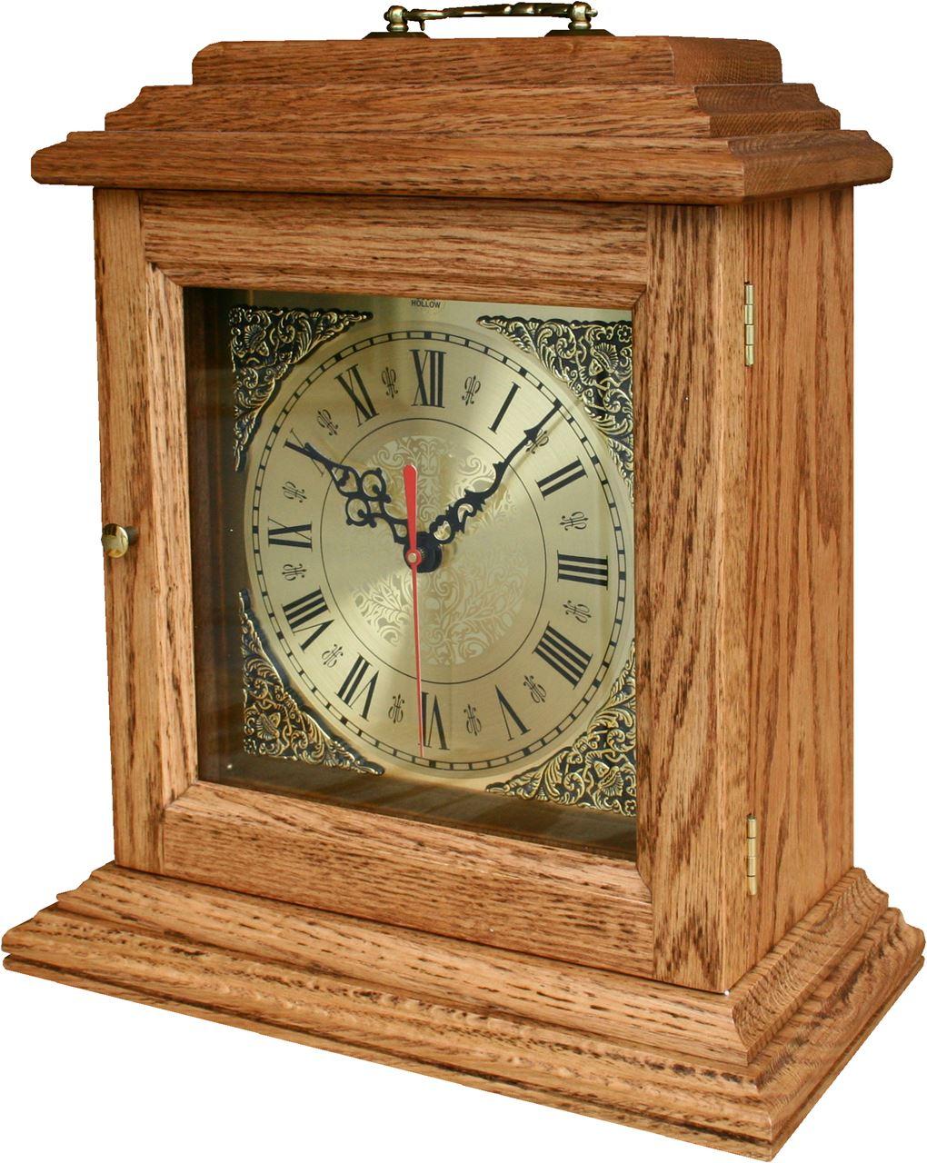 Antique Shelf Clock Four Seasons Furnishings Handmade