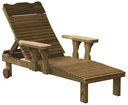 Picture for category Luxcraft Wood Deck Chairs