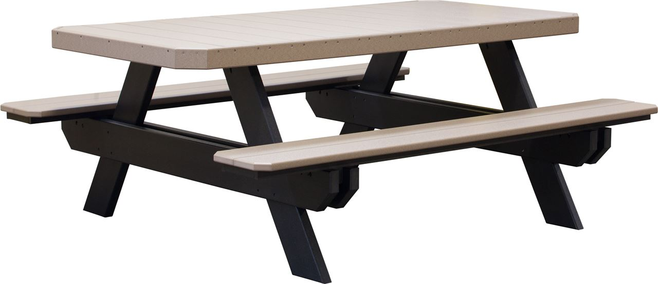 Picture Of Luxcraft Traditional Poly Picnic Table ...