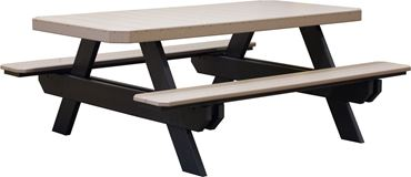 Picture of Luxcraft Traditional Poly Picnic Table