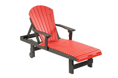Picture of Comfort Time Poly Adirondack Lounge Chair