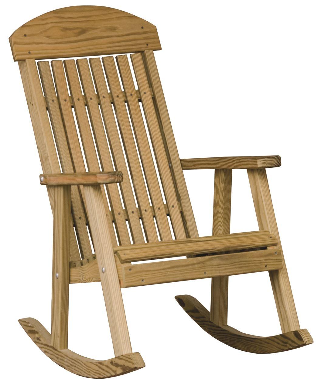 Furniture luxcraft wood deck chairs luxcraft wood porch rocker