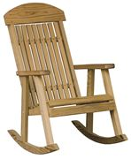 Picture of Luxcraft Wood Porch Rocker