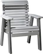 Picture of LuxCraft Poly Plain Rollback Bench 2ft