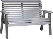 Picture of LuxCraft Poly 4ft. Plain Rollback Bench