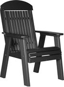 Picture of LuxCraft Poly Classic Highback Bench 2ft