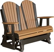 Picture of LuxCraft Poly 4ft. Deluxe Adirondack Glider