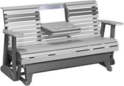 Picture of LuxCraft Poly Plain Rollback Glider 5ft