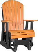 Picture of LuxCraft Poly 2ft. Deluxe Adirondack Glider