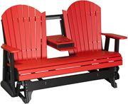 Picture of LuxCraft Poly 5ft. Deluxe Adirondack Glider