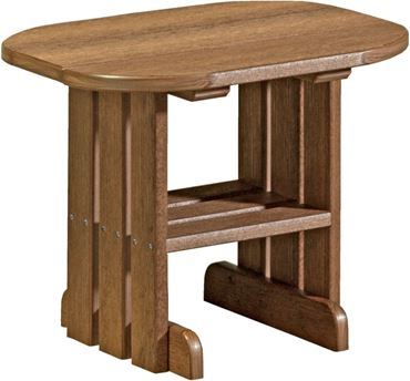 Picture of LuxCraft Poly Oval  End Table
