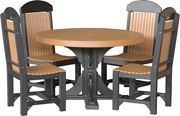 Picture of LuxCraft Poly Round Table Set 4ft