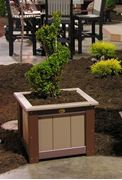 """Picture of Luxcraft Poly 24"""" Planter Box"""