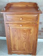 Four seasons furnishings amish made furniture - Amish tilt out trash bin ...