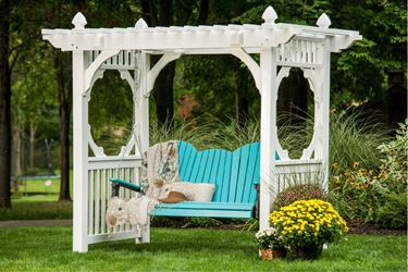 Picture of LuxCraft Poly 5ft. Adirondack Swing