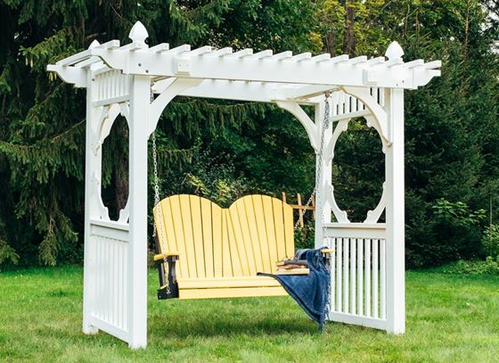 Picture of LuxCraft Poly 4ft. Adirondack Swing