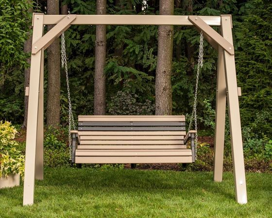 Picture of LuxCraft Poly 4ft. Plain Swing
