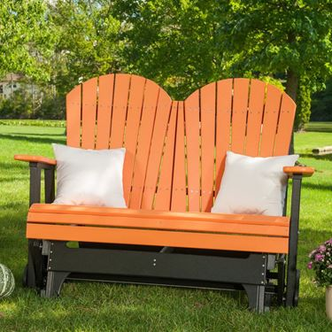 Picture of LuxCraft Poly 4ft. Adirondack Glider