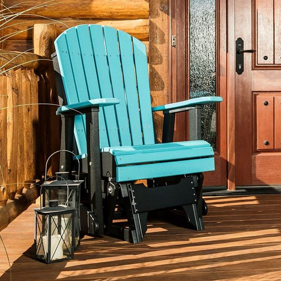 Picture of LuxCraft Poly 2ft. Adirondack Glider Chair