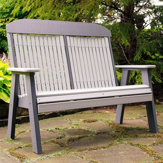 Picture of LuxCraft Poly 4ft. Classic Bench